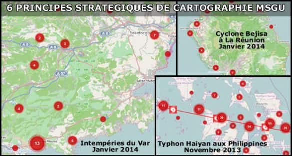 Principes stratégiques de cartographie MSGU par noms de lieux