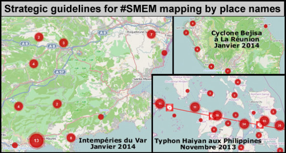 Strategic guidelines for #SMEM mapping by place names