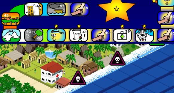 Jeux éducatifs sur les catastrophes naturelles