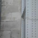 Repère de crue de la Seine