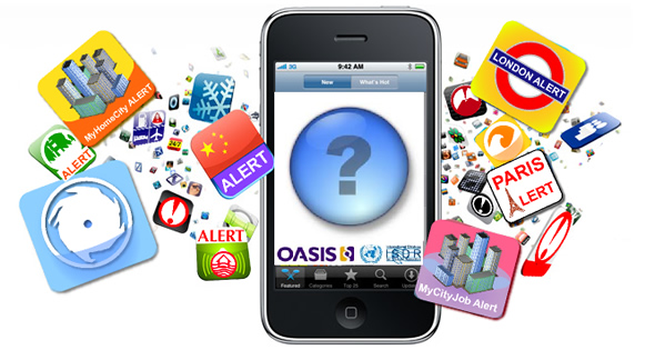 Alert mobile app