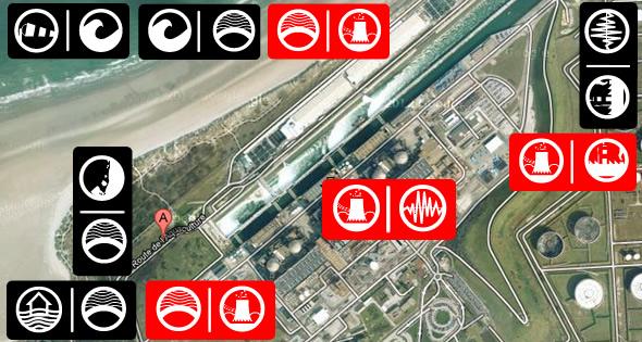 Les risques externes sur les centrales nucléaires française