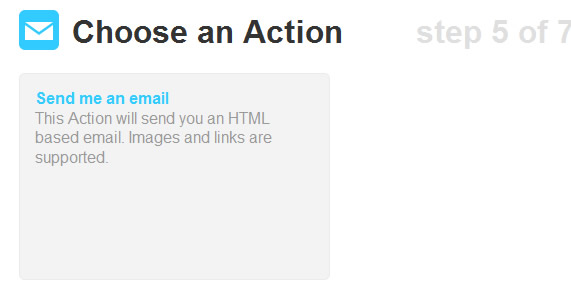 IFTTT Email 2