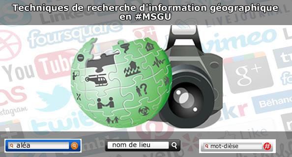 Techniques de recherche d'information géographique
