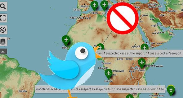 Twitter censure un compte spécialisé sur le cornonavirus en Afrique