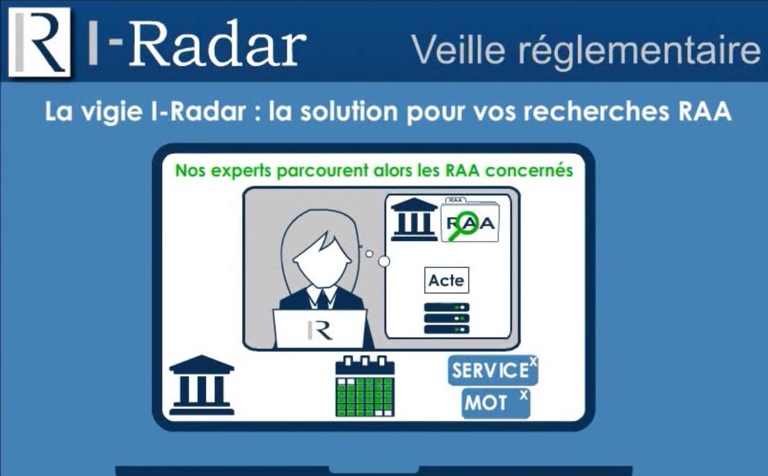 I-Radar : Veille réglementaires des actes administratifs